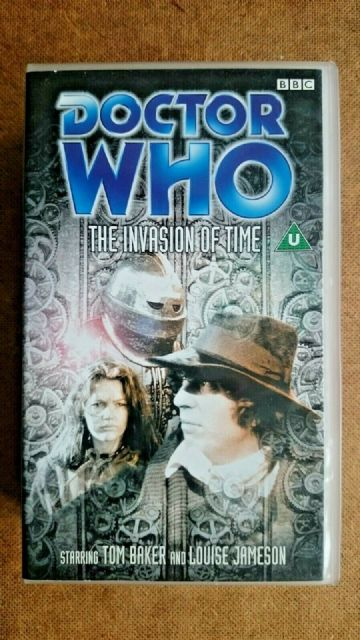 Doctor Who - The Invasion Of Time (VHS, 2000)